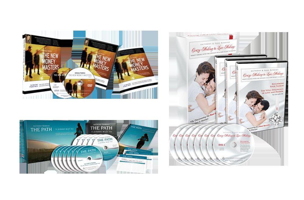 6 Tony Robbins Products